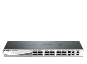 D-Link DES-1210-28 28-Port 10/100Mbps Web Smart  Switch